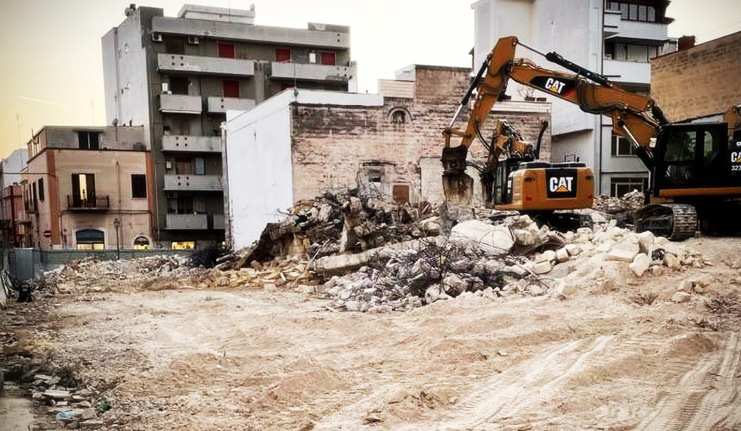 Conclusione lavori di demolizione – Élite